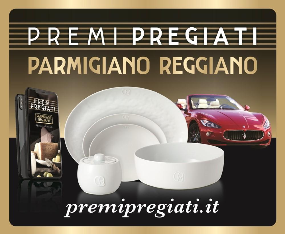 Concorso Parmigiano Reggiano 2018 Premi Pregiati