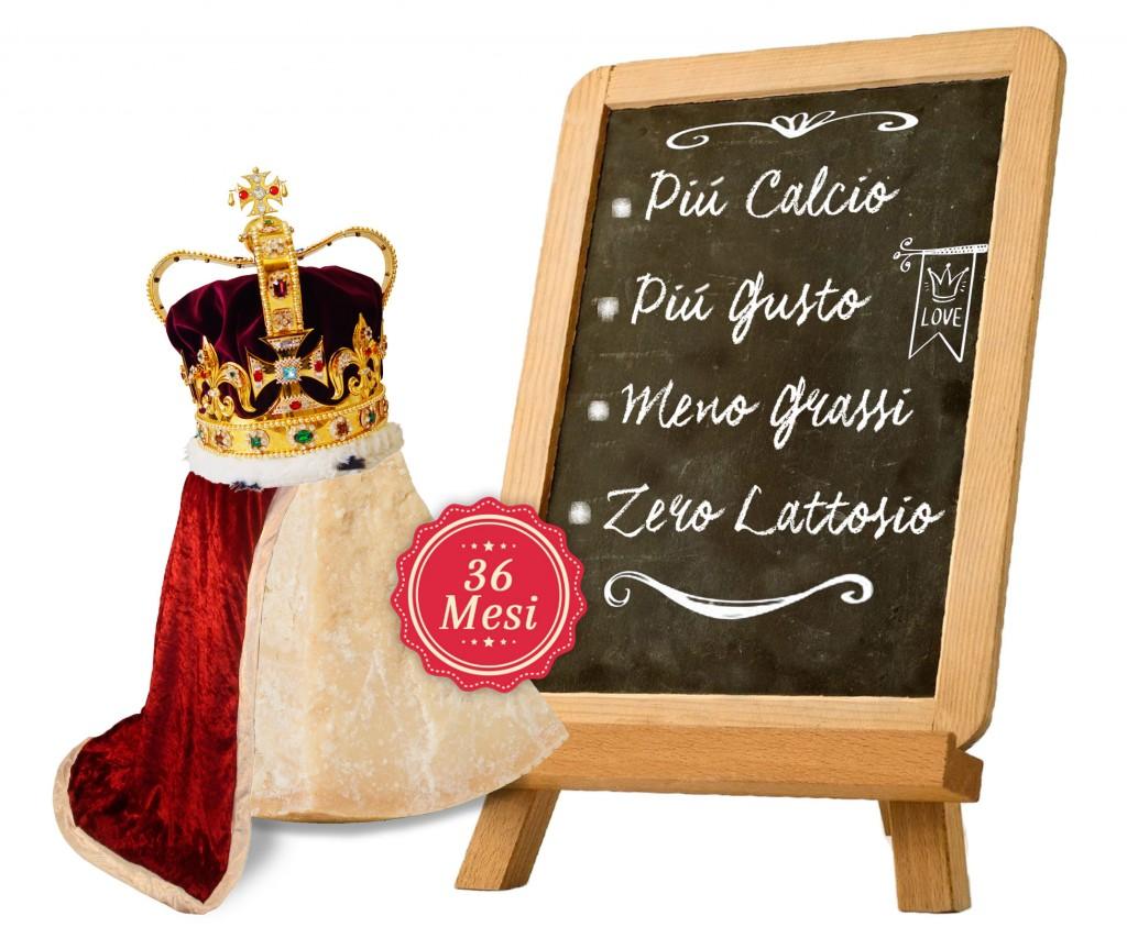 Parmigiano Reggiano: il re dei formaggi senza lattosio