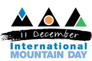 Logo giornata internazionale della montagna