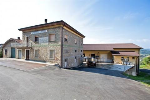 Il punto vendita del Caseificio San Giorgio