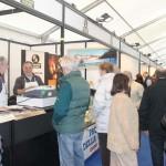 Stand con vendita del nostro Parmigiano Reggiano di montagna a Stramilano 2012