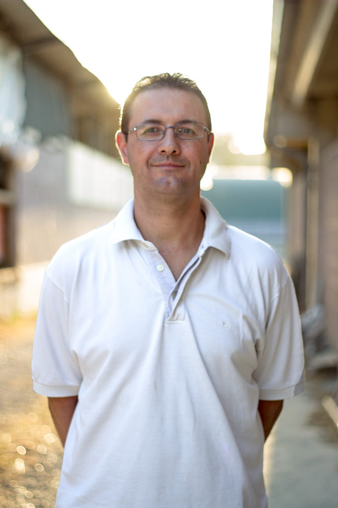 Marco Rinaldi - agricoltore e responsabile della vendita online del Parmigiano Reggiano di Montagna