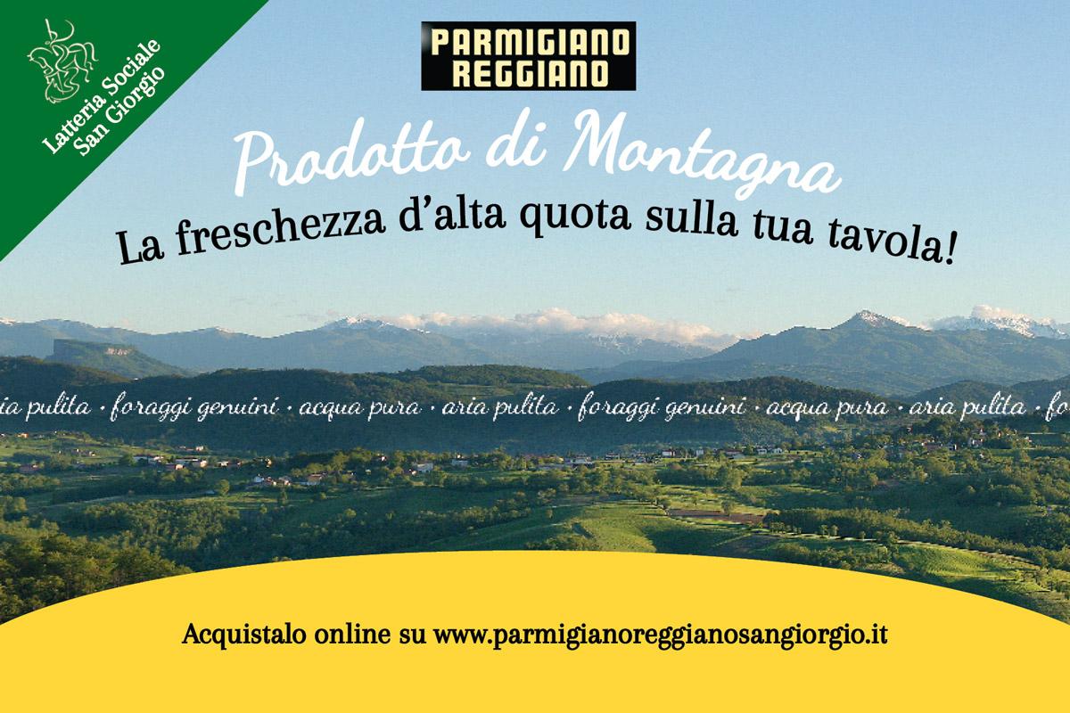 vendita Parmigiano Reggiano di montagna
