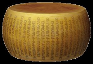 Forme di Parmigiano Reggiano prodotto di montagna
