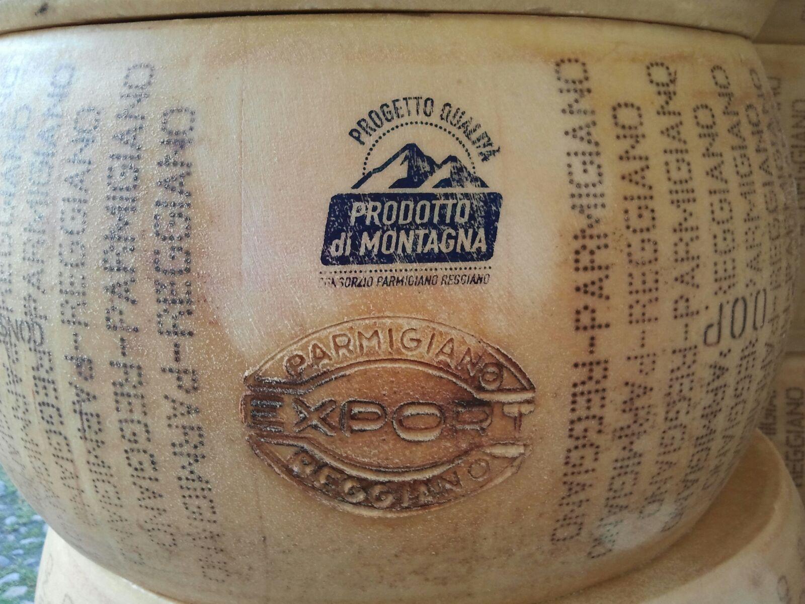 Vendita forme di Parmigiano Reggiano con marchio EXPORT