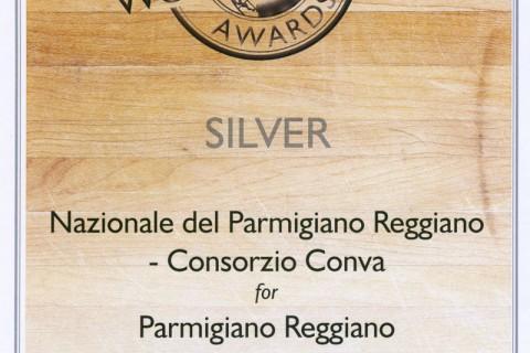 World cheese awards silver per il Parmigiano Reggiano della latteria sociale san giorgio